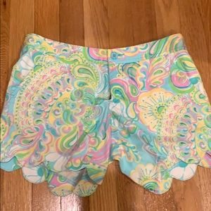 Lilly Pulitzer buttercup short- gently worn